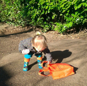The Youngest Forager About.