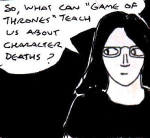 2015 Artwork Random thoughts about character death article