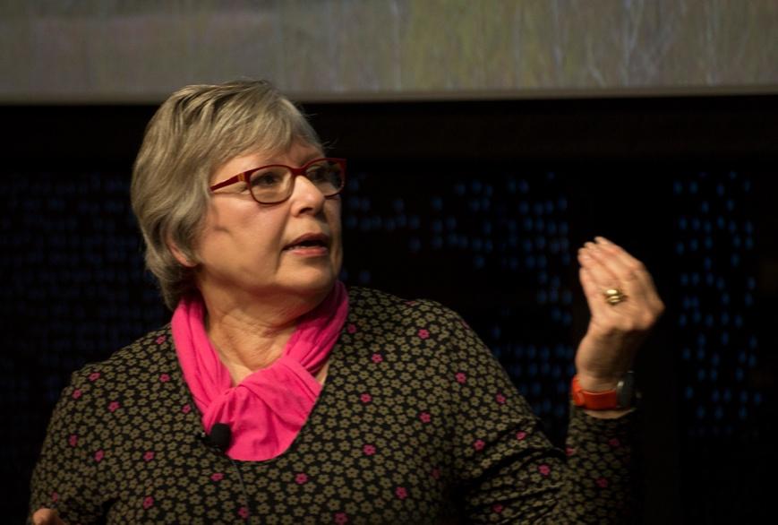 Jana Goldman at the IMAS Hobart Waterfront Campus
