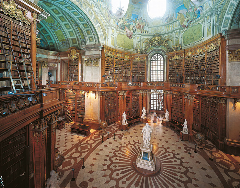Austrian-National-Library-Vienna-Austria